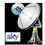 sky satellite dish fitter