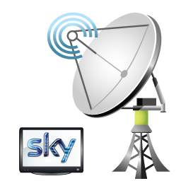 sky satellite dish fitter